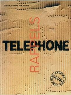 Téléphone: Rappels - Volume 1 Livre | Guitar Tab