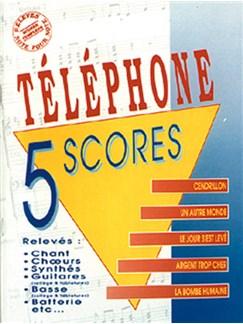 Téléphone: 5 Scores - Volume 1 Books | Band Score