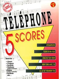 Téléphone: 5 Scores - Volume 2 Livre | Band Score