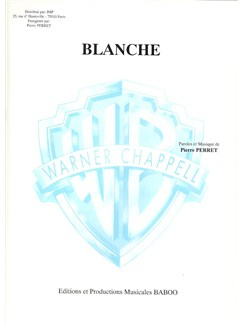 Pierre Perret: Blanche Books | Piano & Vocal