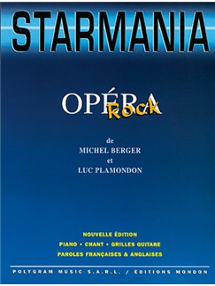 Starmania (opéra Rock) Livre | Piano, Vocal & Guitar