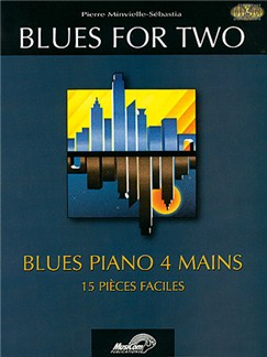 Blues for Two Books and CDs | Piano Duet