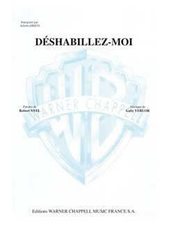 Juliette Greco: Déshabillez-Moi Livre | Piano & Vocal