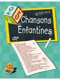 25 Chansons Enfantines Books | Piano