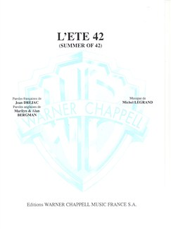 Michel Legrand: Été 42 (L') (Summer of 42) Books | Piano & Vocal