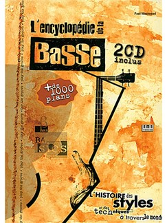 Encyclopedie De La Basse + 2CD (French Edition) Books and CDs | Bass Guitar