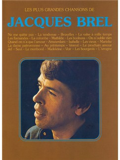 Jacques Brel: Plus Grandes Chansons de Jacques Brel (Les) Books | Piano & Vocal