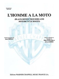 Edith Piaf: Homme à la Moto (L') (Black Denim Trousers and Motorcycle Boots) Livre | Piano & Vocal