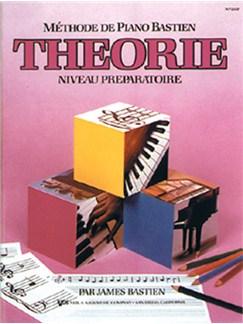 Méthode de Piano Bastien : Théorie, Niveau Préparatoire Books | Piano
