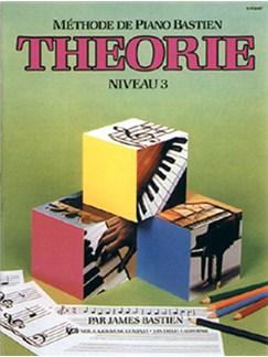Méthode de Piano Bastien : Théorie, Niveau 3 Books | Piano