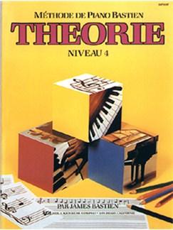 Méthode de Piano Bastien : Théorie, Niveau 4 Books   Piano