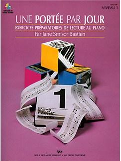 Méthode de Piano Bastien : Une Portée par Jour, Niveau 1 Books | Piano