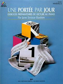 Méthode de Piano Bastien : Une Portée par Jour, Niveau 2 Books   Piano