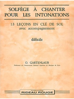 Solfège à Chanter pour Les Intonations : Difficile Books | Voice