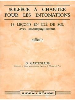 Solfège à Chanter pour Les Intonations : Difficile Livre | Voice