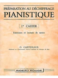 Préparation Au Déchiffrage Pianistique - 1er Cahier Livre | Piano