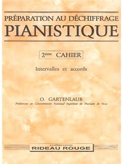 Préparation Au Déchiffrage Pianistique - 2ème Cahier Livre | Piano