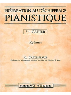 Préparation Au Déchiffrage Pianistique - 3ème Cahier Books | Piano