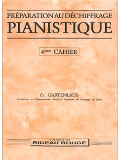 Préparation Au Déchiffrage Pianistique - 4ème Cahier Livre | Piano