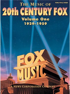 The Music Of 20th Century Fox: Volume One 1929-1959 Books | Piano, Voice and Guitar box chords