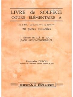 Livre de Solfège : Cours Élémentaire A Books | All Instruments