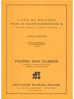 Livre de Solfège : Cours Élémentaire B Books   All Instruments