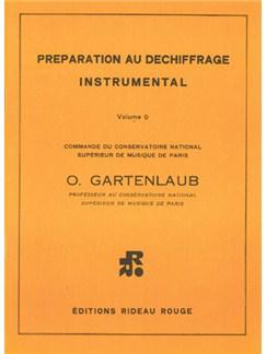 Préparation Au Déchiffrage Instrumental : Volume D - Supérieur Books | All Instruments
