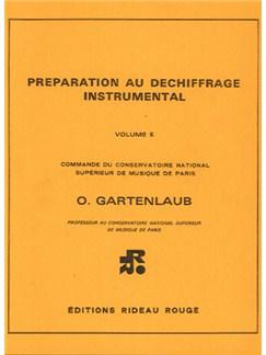Préparation Au Déchiffrage Instrumental : Volume e - Supérieur Books   All Instruments