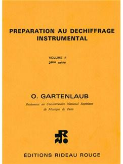 Préparation Au Déchiffrage Instrumental : Volume F, 2ème Cahier - Supérieur Books | All Instruments