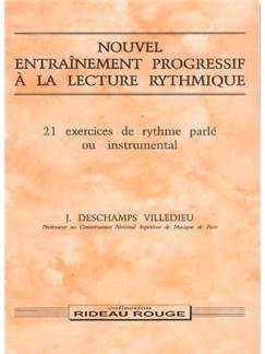 Nouvel Entraînement Progressif à la Lecture Rythmique - Difficile Books | All Instruments