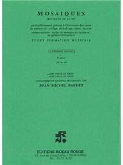 Mosaïques 1er Niveau - 2ère Série Libro   Todos Instrumentos