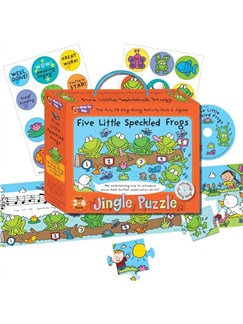 Music For Kids: Jingle Puzzle - Five Little Speckled Frogs  |