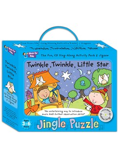 Music For Kids: Jingle Puzzle - Twinkle, Twinkle, Little Star  |