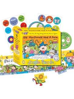 Music For Kids: Jingle Puzzle - Old MacDonald Had A Farm  |