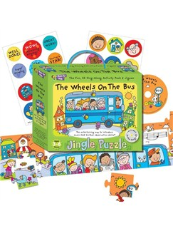 Music For Kids: Jingle Puzzle - The Wheels On The Bus  |