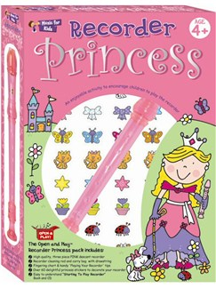 Open And Play: Recorder Princess Pack Books, CDs and Instruments | Soprano (Descant) Recorder, Recorder