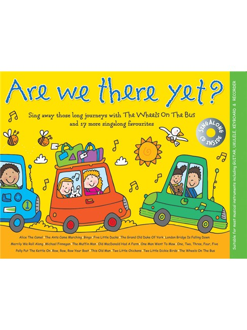 Music For Kids: Are We There Yet? - Melody Line, Lyrics & Chords ...