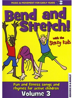 Bend And Stretch! - Sticky Kids Volume 3 CDs |