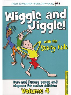 Wiggle And Jiggle! - Sticky Kids Volume 4 CDs |