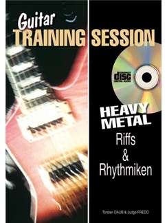 Guitar Training Session: Heavy Metal Riffs & Rhythmiken (Buch/CD) Books and CDs | Guitar