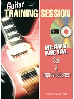 Guitar Training Session: Heavy Metal Soli & Improvisationen Books and CDs | Guitar