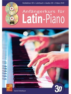 Anfängerkurs Für Latin-Piano In 3D (Book/CD/DVD) Books, CDs and DVDs / Videos | Piano