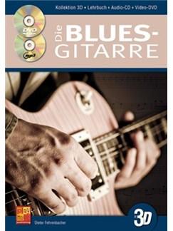 Dieter Fehrenbacher: Die Blues-Gitarre In 3D (Buch/CD/DVD) Books, CDs and DVDs / Videos | Guitar