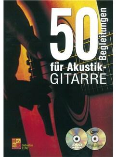 50 Begleitungen Für Akustik-Gitarre (Book/CD/DVD) Books, CDs and DVDs / Videos   Guitar