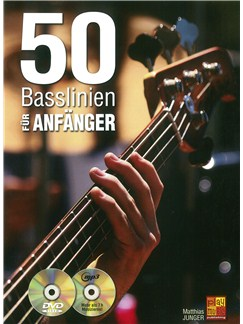 50 Basslinien Für Anfänger (Book/CD/DVD) Books, CDs and DVDs / Videos | Bass Guitar