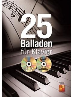 Friedrich Graaf: 25 Balladen Für Klavier (Buch/CD/DVD) Buch, CD und DVDs / Videos | Klavier