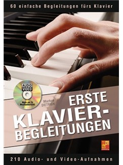 Markus Dietrich: Erste Klavier-Begleitungen (Buch/DVD) Books and DVDs / Videos | Piano