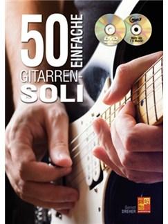 Gernot Dreher: 50 Einfache Gitarren-Soli (Buch/CD/DVD) Books, CDs and DVDs / Videos | Guitar