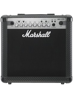 Marshall: MG15CFX - 15w Combo  | Electric Guitar