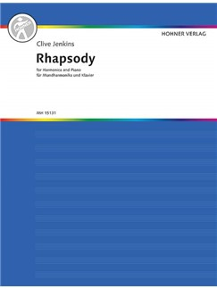 Clive Jenkins: Rhapsody Books | Harp, Piano Accompaniment